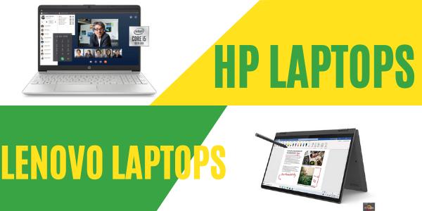 Lenovo vs hp laptops